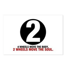 2 Wheels Move the Soul Postcards (Package of 8)