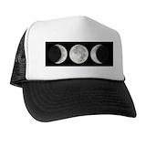 Moon phase Trucker Hats