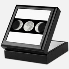 Three Phase Moon Keepsake Box