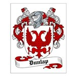 Dunlap Family Crest Small Poster