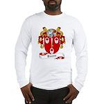 Dunne Family Crest Long Sleeve T-Shirt