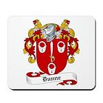 Dunne Family Crest Mousepad