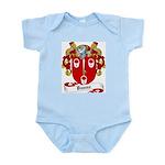 Dunne Family Crest Infant Creeper