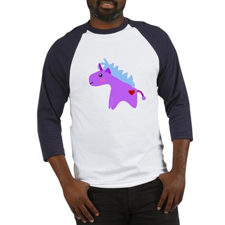 Cute Unicorn Baseball Jersey