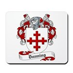 Dunning Family Crest Mousepad