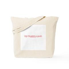 My Uncle's A Geek Tote Bag