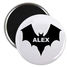 BLACK BAT ALEX Magnet