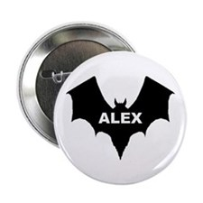 BLACK BAT ALEX Button