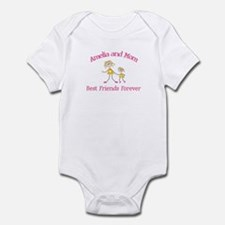 Amelia and Mom - Best Friends Infant Bodysuit