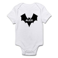 BLACK BAT ALEX Infant Creeper