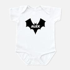 BLACK BAT ALEX Infant Creeper