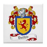 Duthie Family Crest Tile Coaster