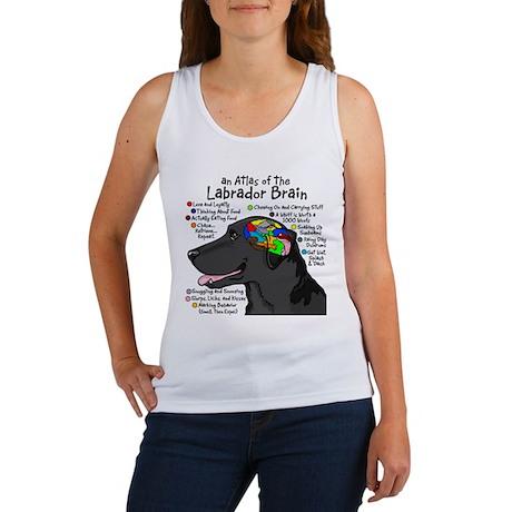 Black Lab Brain Women's Tank Top