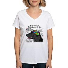 Black Lab Brain Shirt