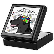 Black Lab Brain Keepsake Box
