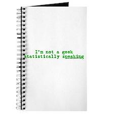 I'm Not A Geek Statistically Journal