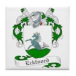 Eckfoord Family Crest Tile Coaster