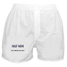 Half Man Half Poison Dart Frog Boxer Shorts