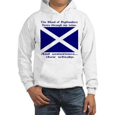 Scottish Blood & Whisky St. A Hooded Sweatshirt