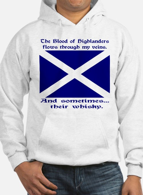 Scottish Blood & Whisky St. A Hoodie