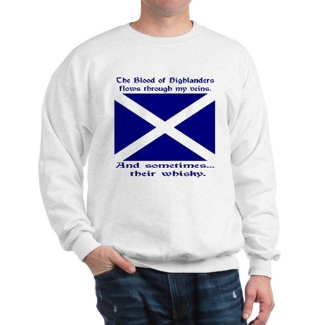 Scottish Blood & Whisky St. A Sweatshirt