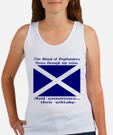 Scottish Blood & Whisky St. A Women's Tank Top