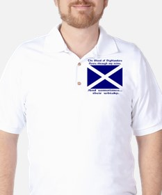 Scottish Blood & Whisky St. A Golf Shirt