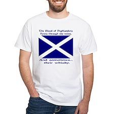 Scottish Blood & Whisky St. A Shirt