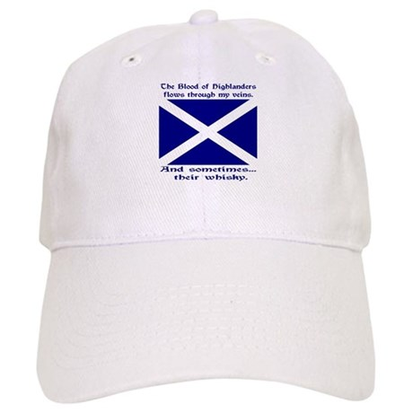 Scottish Blood & Whisky St. A Cap