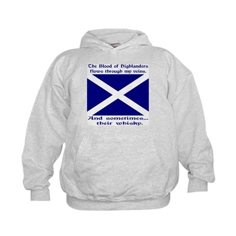 Scottish Blood & Whisky St. A Kids Hoodie