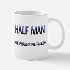 Half Man Half Peregrine Falcon Mug