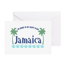Jamaica Happy Place - Greeting Card