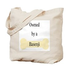 Owned by a Basenji Tote Bag