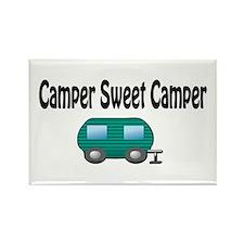 Camper Sweet Camper Rectangle Magnet