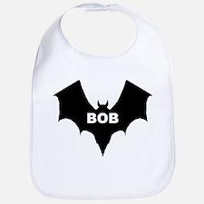 BLACK BAT BOB Bib