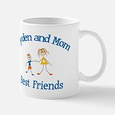 Jayden and Mom - Best Friends Mug