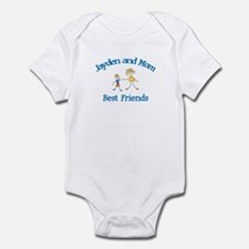 Jayden and Mom - Best Friends Infant Bodysuit
