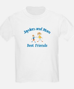 Jayden and Mom - Best Friends T-Shirt