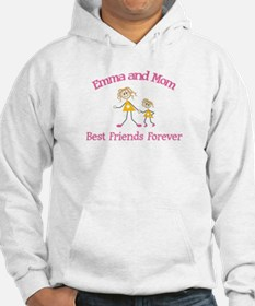 Emma and Mom - Best Friends Hoodie