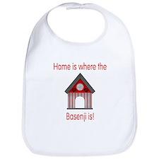 Home is where the Basenji is Bib