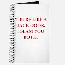 back door Journal