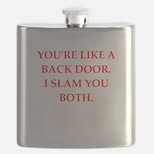 back door Flask