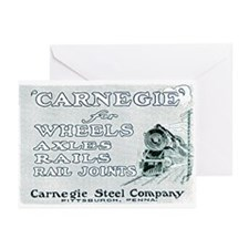 Carnegie Steel 1890 Greeting Cards (Pk of 10)