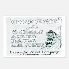 Carnegie Steel 1890 Postcards (Package of 8)