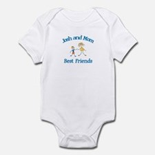 Josh and Mom - Best Friends Infant Bodysuit