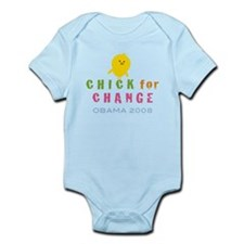 Chick for Change Infant Bodysuit