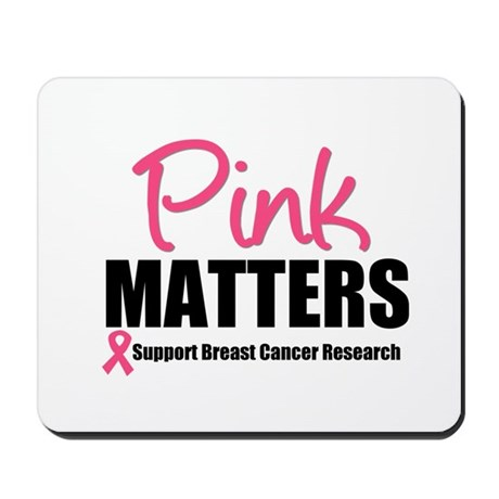 Pink Matters Breast Cancer Mousepad
