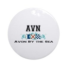 Avon by the Sea Ornament (Round)