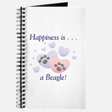 Happiness is...a Beagle Journal