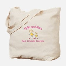 Kylie and Mom - Best Friends Tote Bag